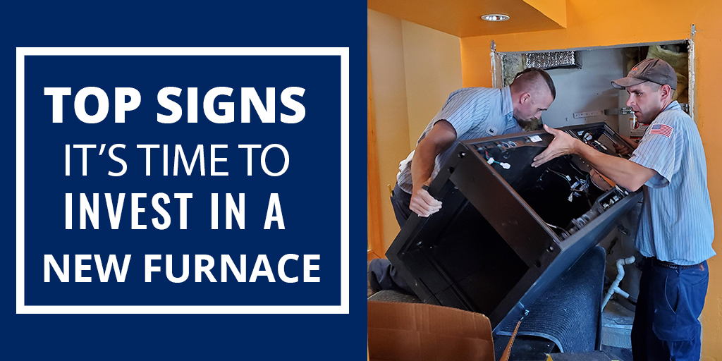 Top signs it's time to invest in a new furnace